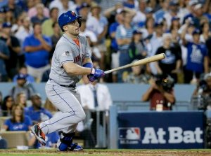 Earlier this season, Don Mattingly gave David Wright career advice. After Wright's 2 run single against Pedro Baez, Mattingly might need Wright to return the favor. (AP Photo/Gregory Bull)