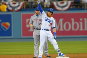 Clearly, Daniel Murphy misses Justin Turner (source: Jayne Kamin-Oncea, USA Today)